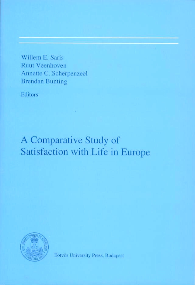 A Comparative Study of Satisfaction with Life in Europe