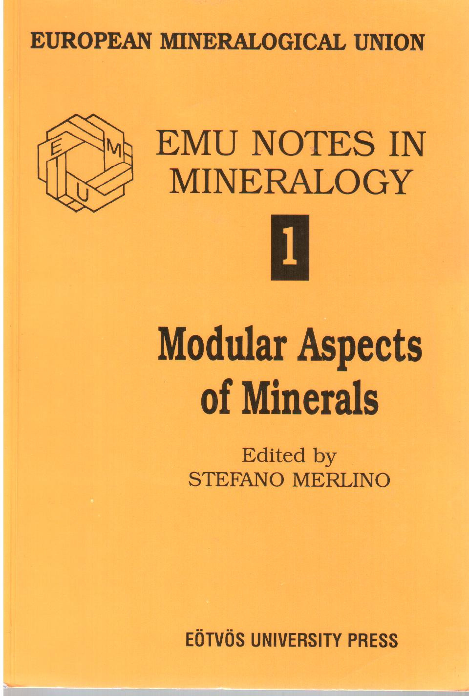 EMU 1 - Modular Aspects of Minerals